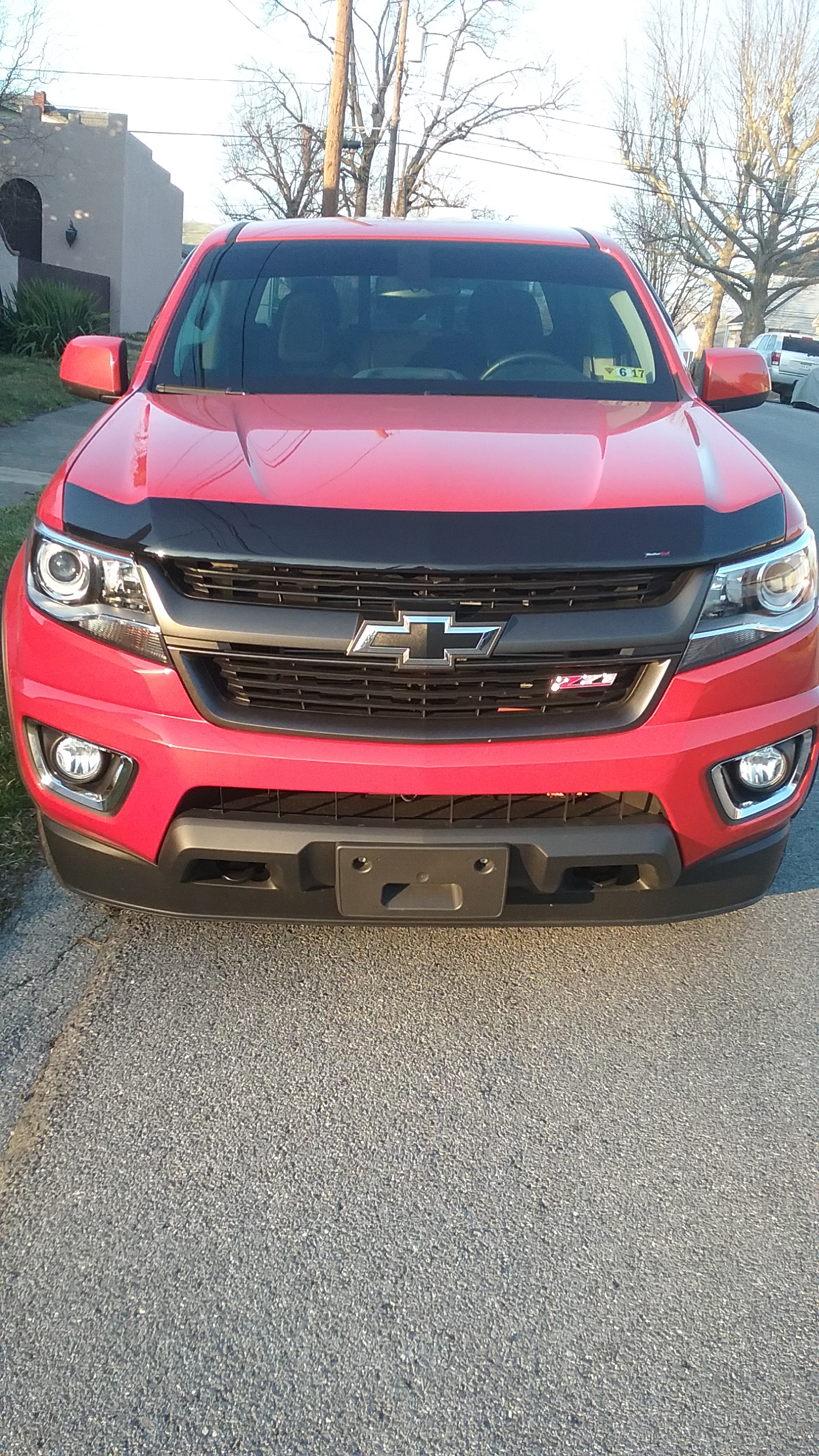 Bug Deflector Shield for 2015-2019 Chevy Colorado