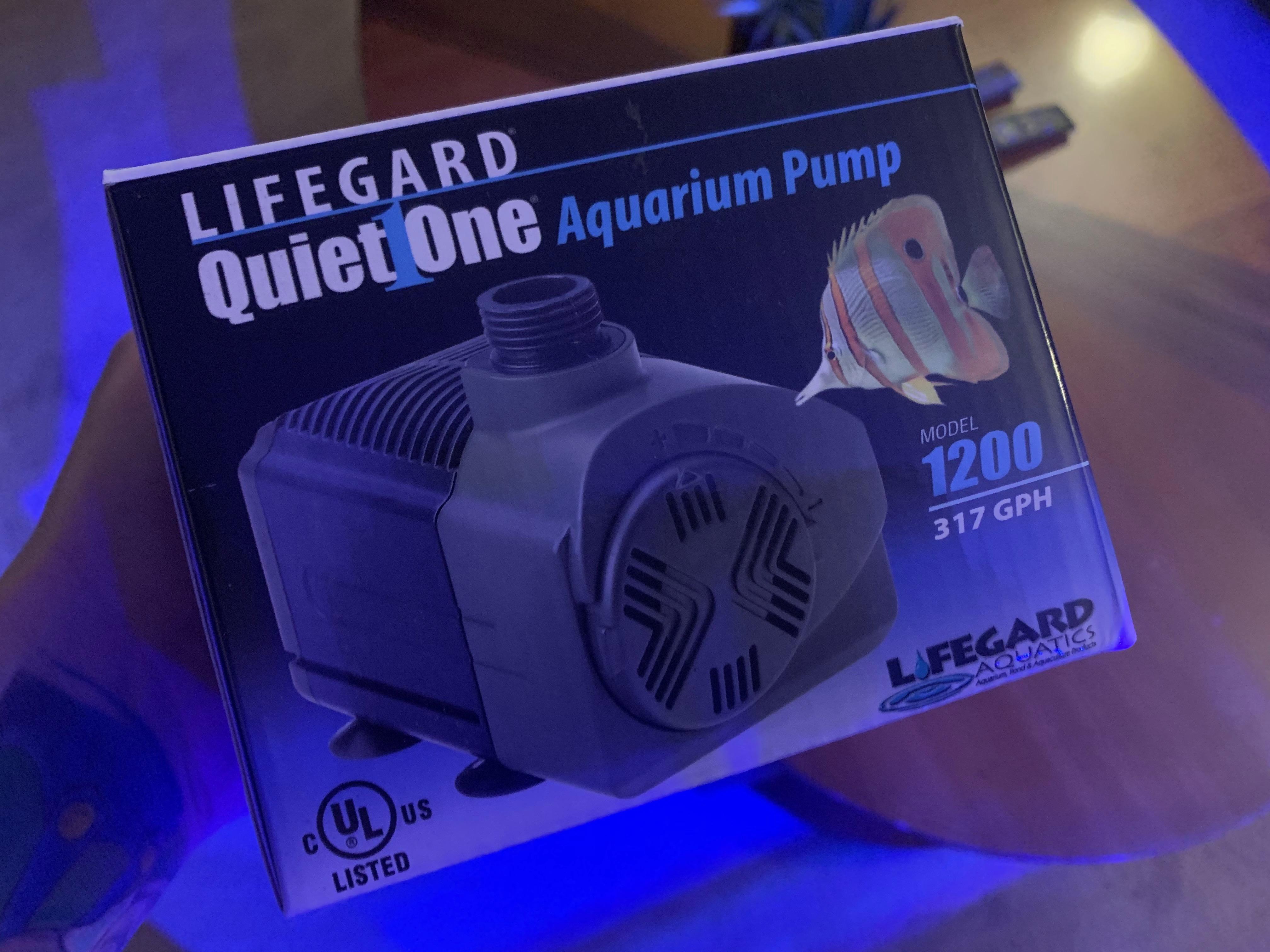 Fish & Aquariums Pet Supplies Lifegard Quiet One Aquarium Pump 6000 Professional Design