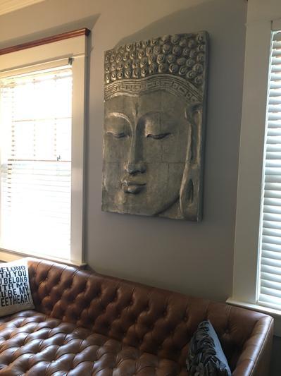 Serenity Buddha Panel Wall Decor Z Gallerie