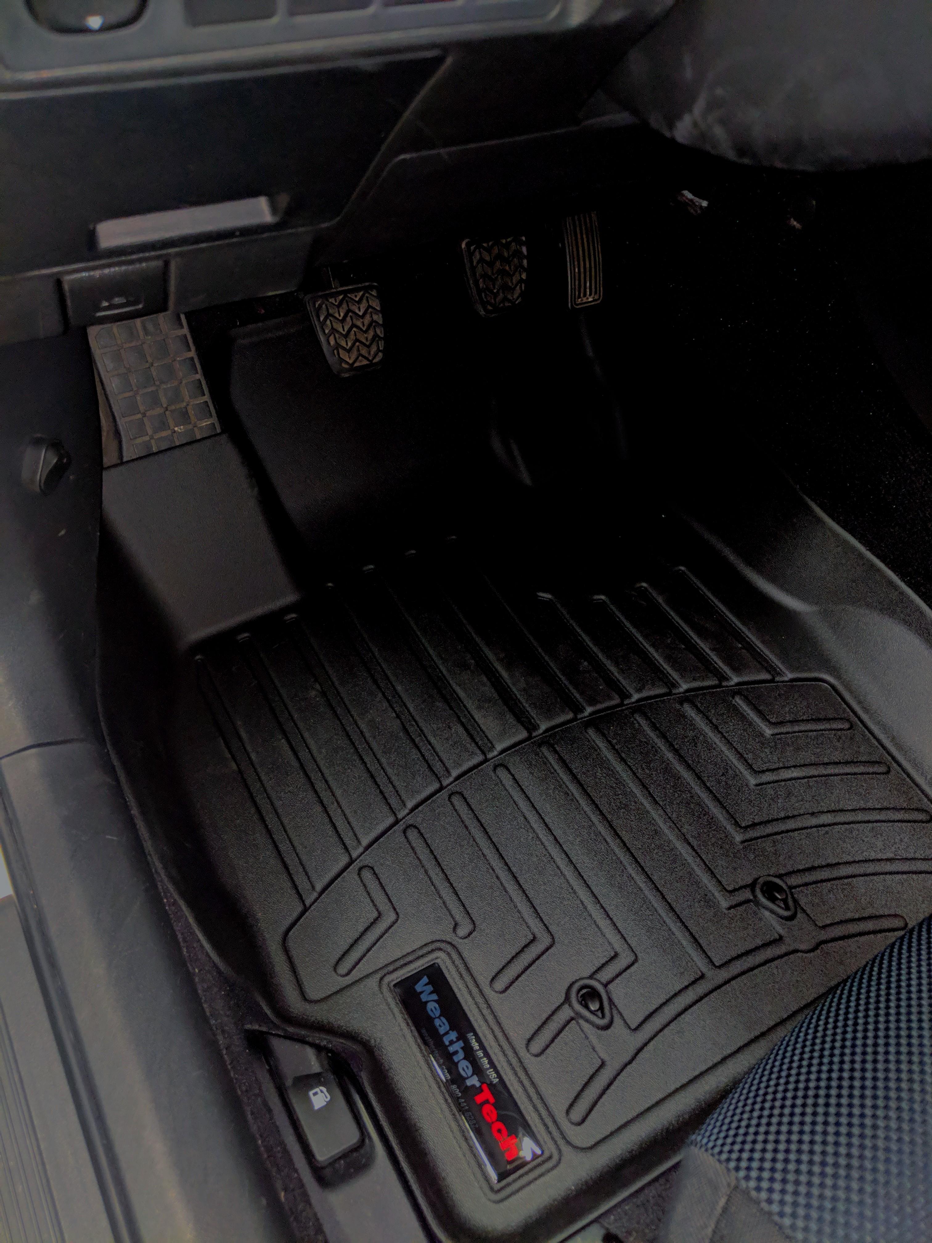 WeatherTech Rear FloorLiner for Select Scion tC Models Black 443452
